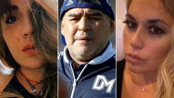 Gianinna Maradona Diego Maradona Verónica Ojeda