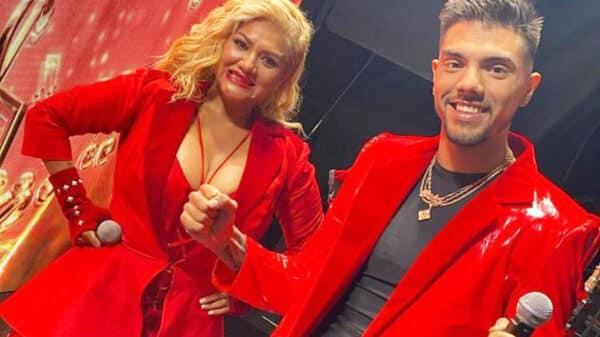 Gladys La Bomba Tucumana y Tyago Gryffo
