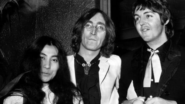 John Lennon, Yoko Ono, Paul McCarney