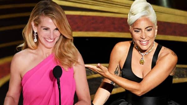 Julia Roberts y Lady Gaga