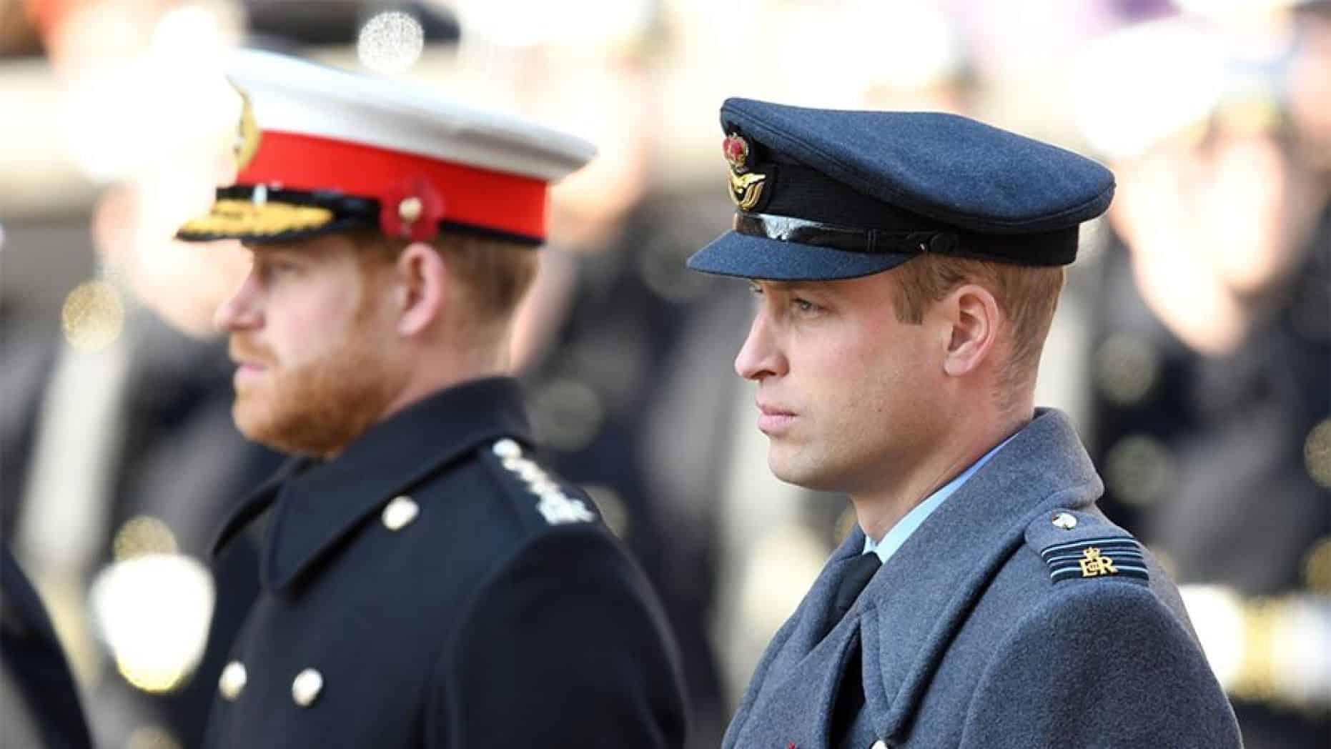 Príncipe Harry y Principe William