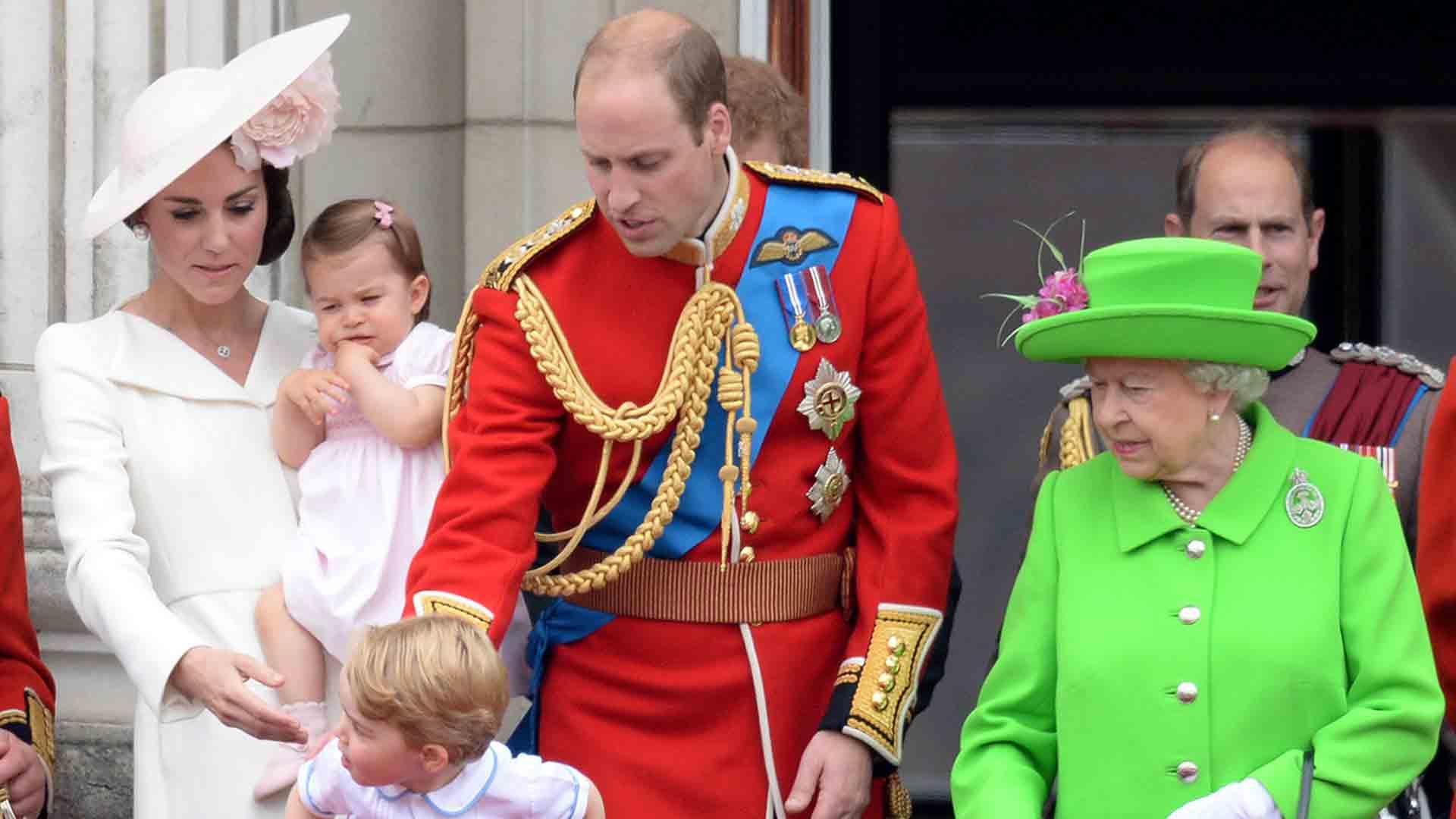 Reina Isabel Principe William