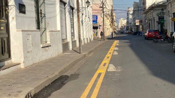 Bicisenda calle Alvarado