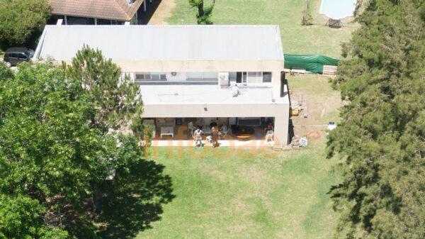 Casa donde se aloja Maradona durante su recuperación
