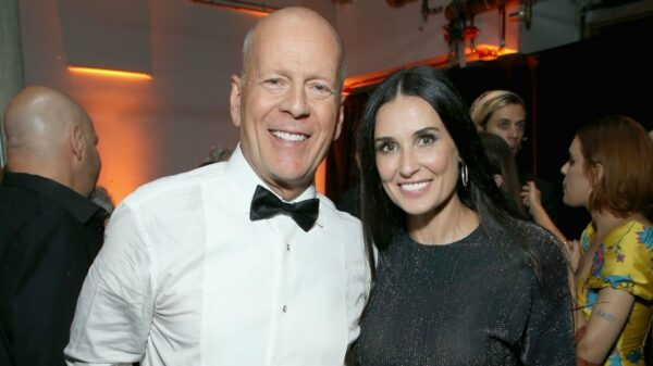 Bruce Willis y Demi Moore