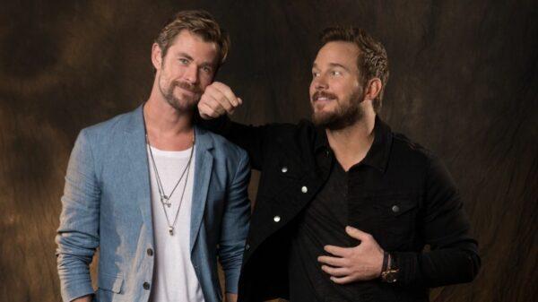 Chris Hemsworth y Chris Pratt