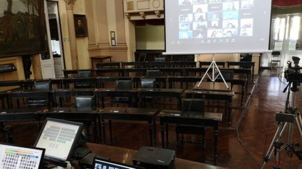 Diputados Salta - Zoom - Sesión virtual- Legislatura