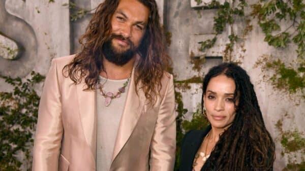 Jason Momoa y su esposa
