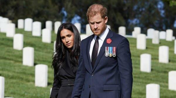 Meghan Markle y el príncipe Harry 1