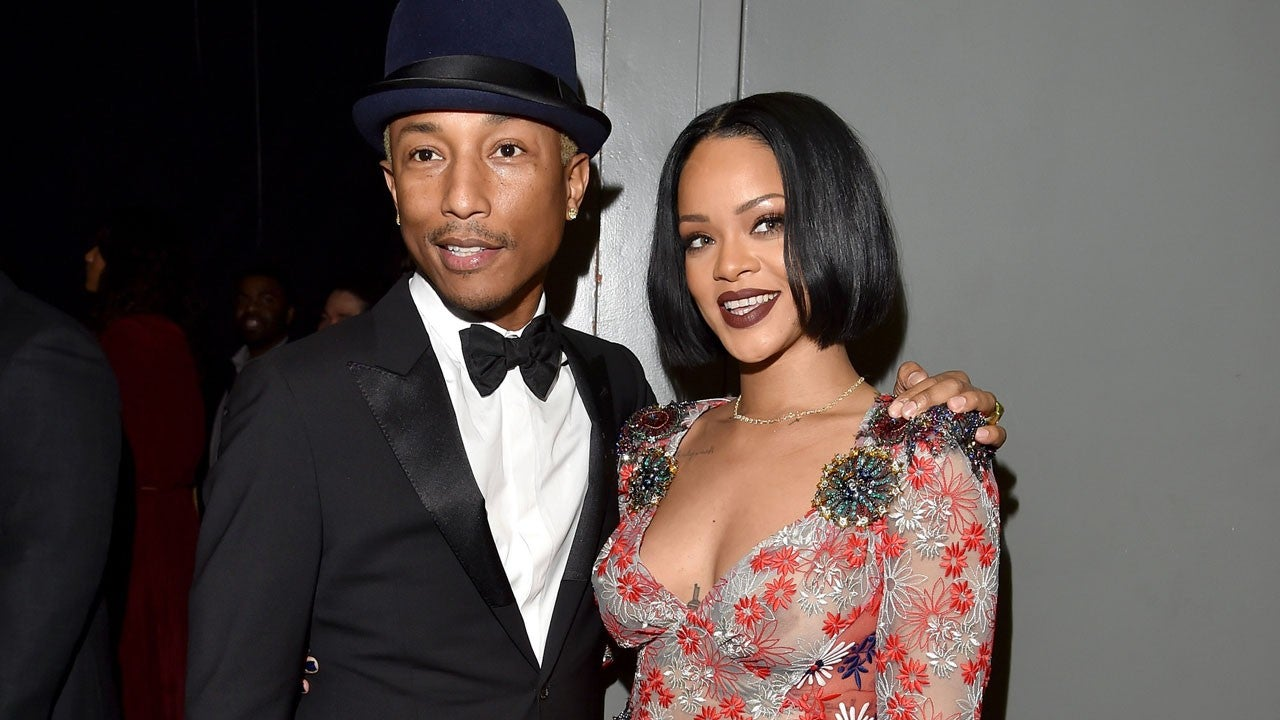 Pharrell Williams y Rihanna