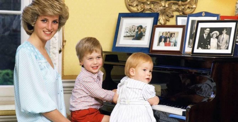 Príncesa Diana, príncipe William, príncipe Harry