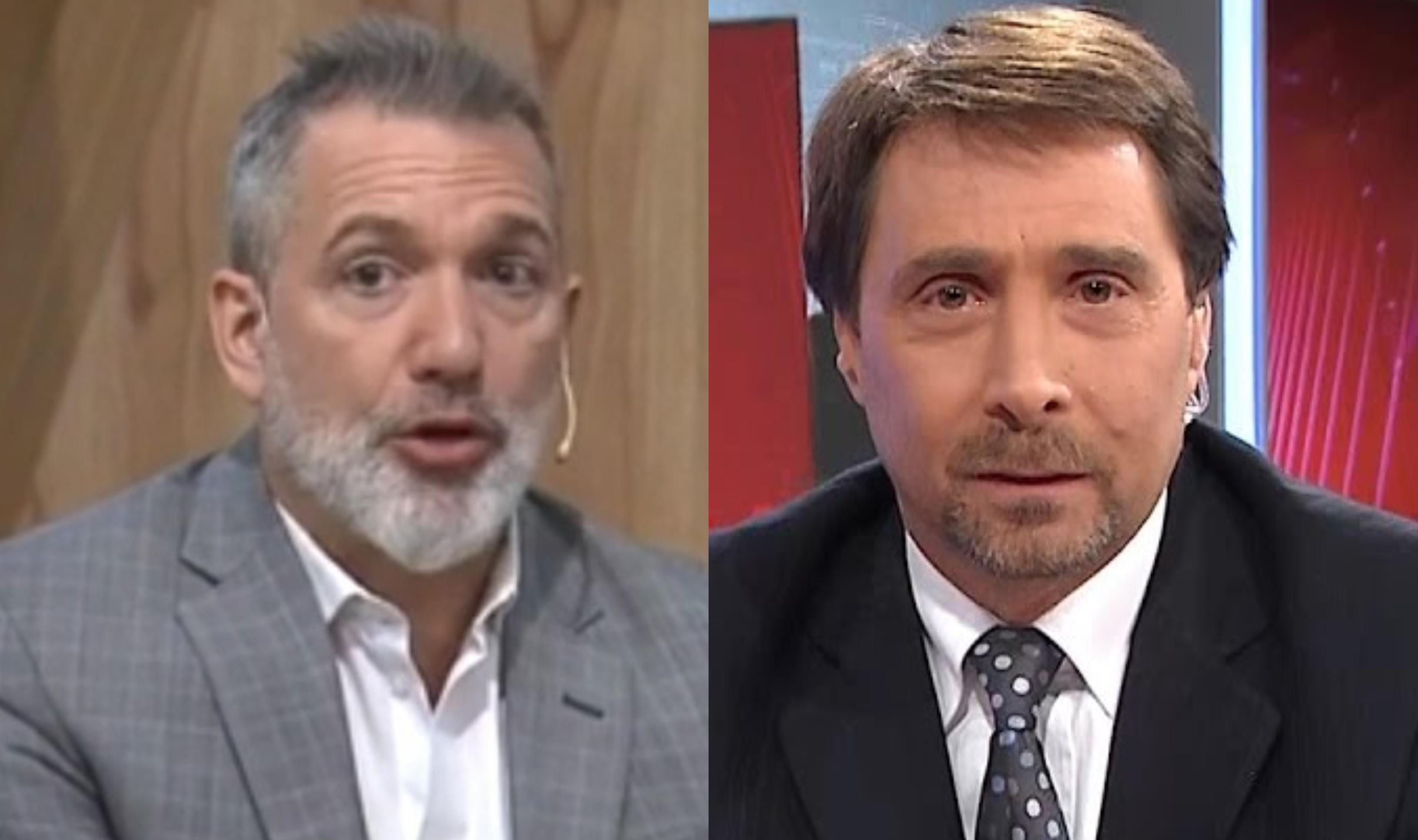 Pablo Duggan y Eduardo Feinmann