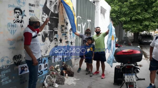 Diego Maradona en Salta