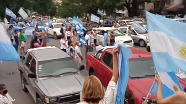 marcha en Salta