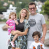Álvaro Navia y su familia