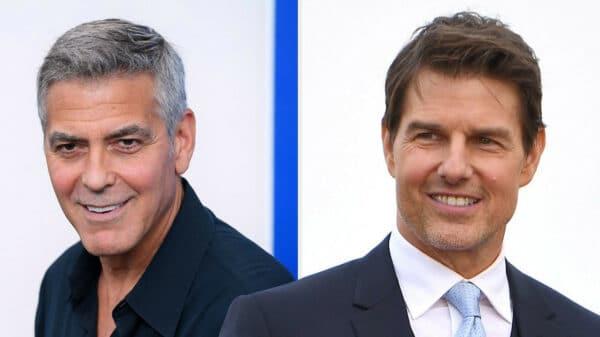 George Clooney y Tom Cruise