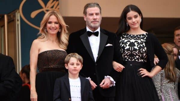 John Travolta y su familia