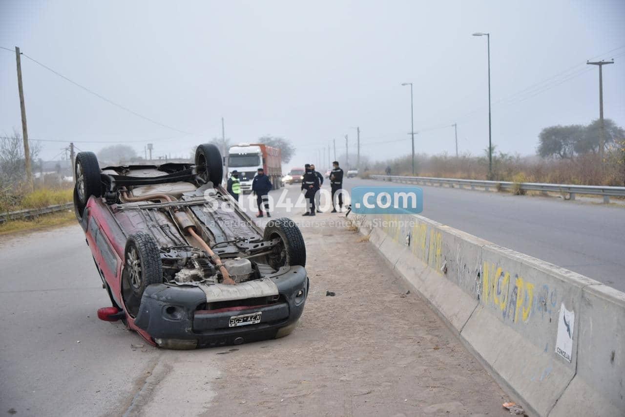accidente fatal en Salta