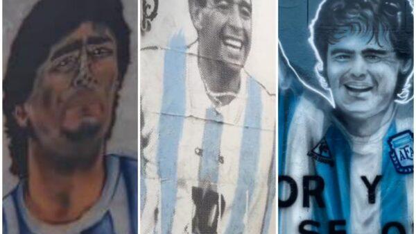 Homenaje a Maradona de clubes salteños