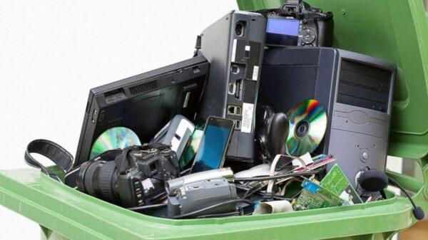 Recolección de residuos informáticos en Salta