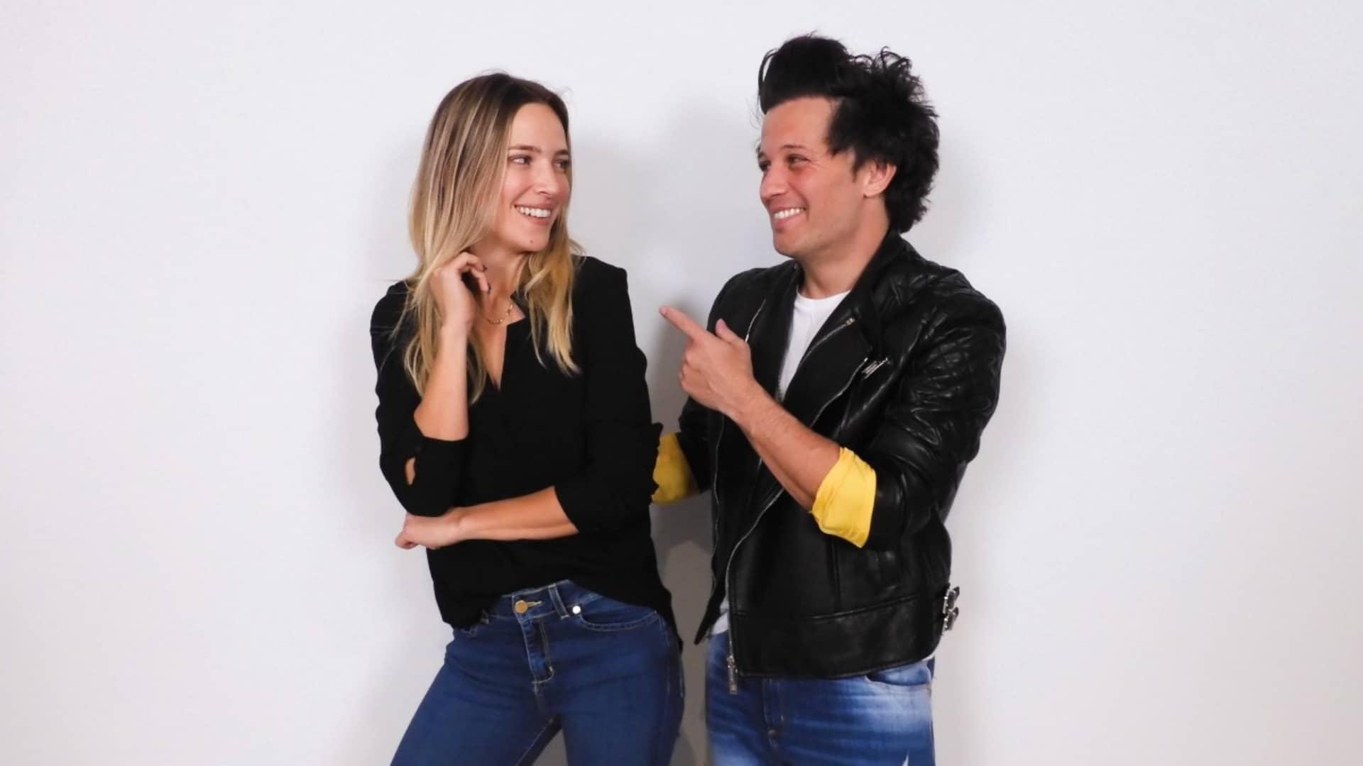 Luisana y Darío Lopilato