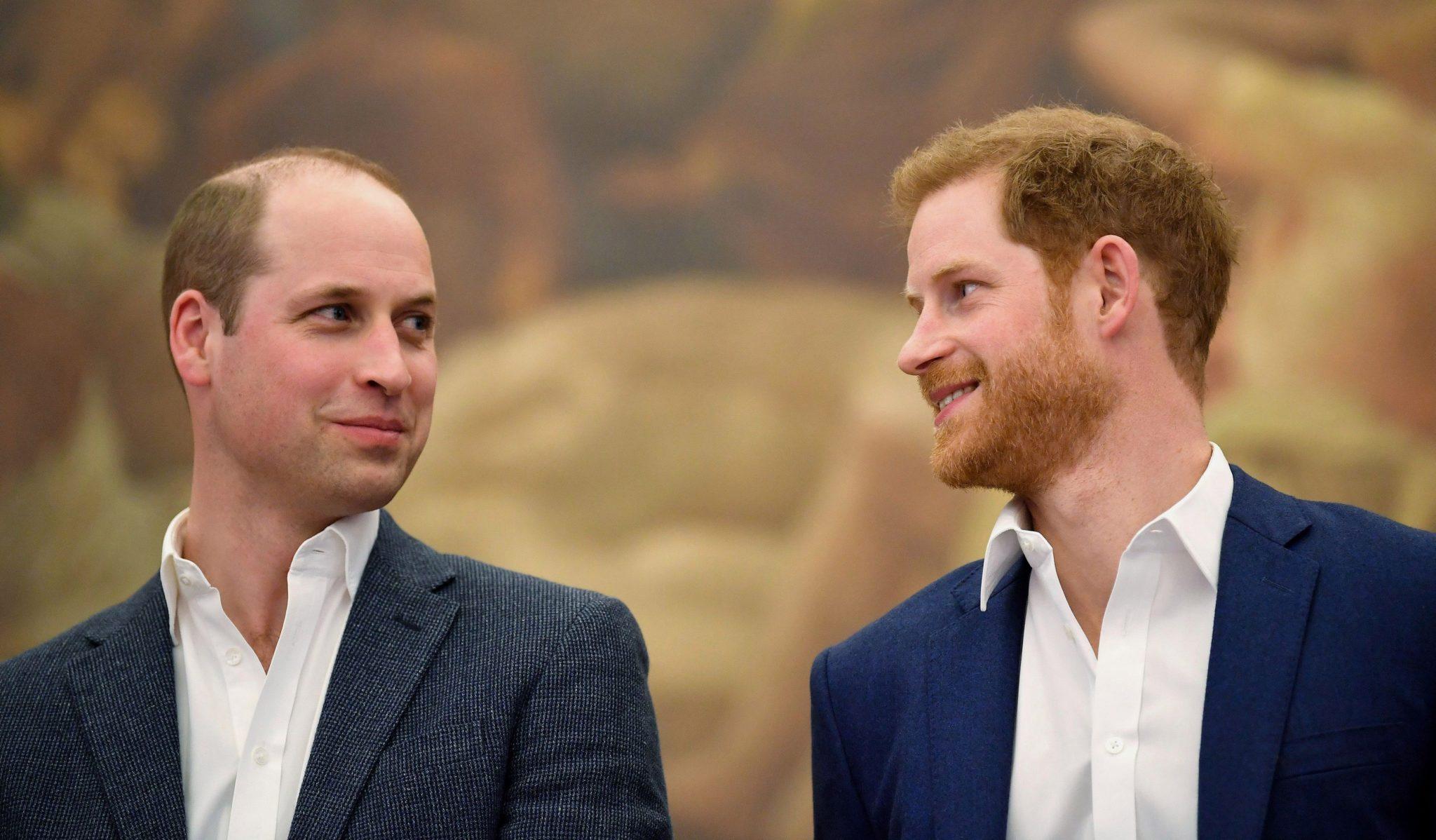 Príncipe Harry y príncipe William
