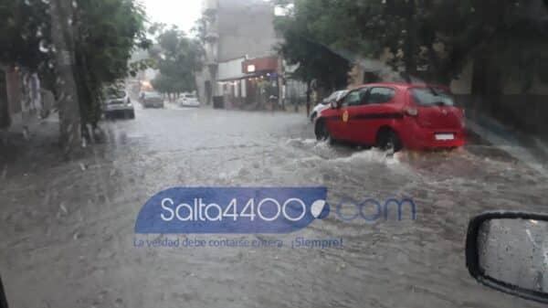 temporal en Salta