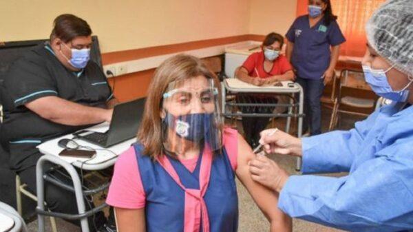 operativo de vacunación